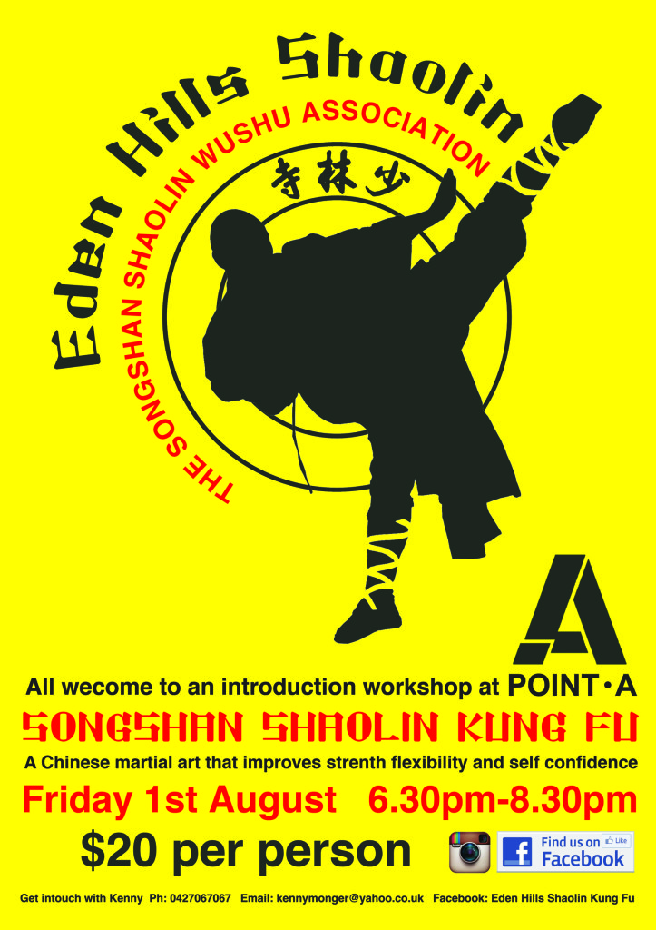 shaolin workshop